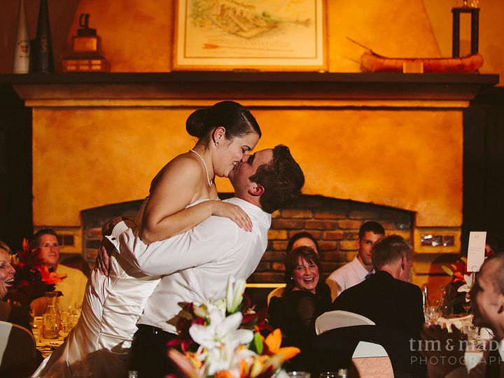 Tmx 1447788336647 Minnesota Boat Club Wedding Kiss Saint Paul wedding venue