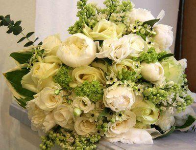 Tmx 1359757011407 Weddingbouquetwhiteandcream Yakima, WA wedding florist
