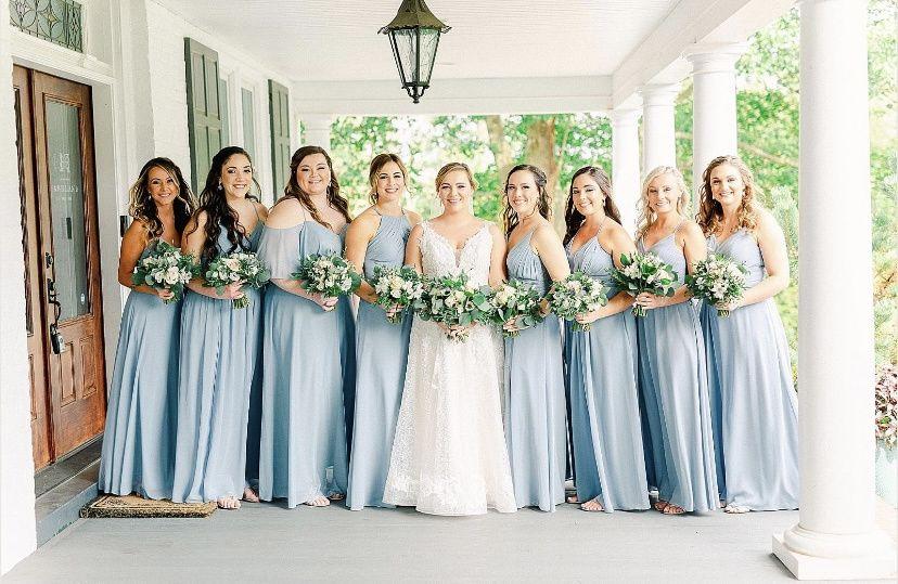 Bridal Hair + Bridesmaids