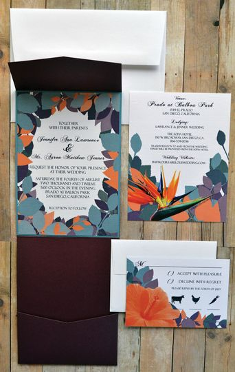 Paradise Awaits Wedding Invitations