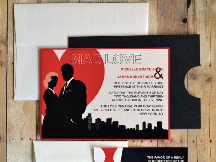 Tmx 1368391289846 Madlove  Is2 San Diego wedding invitation