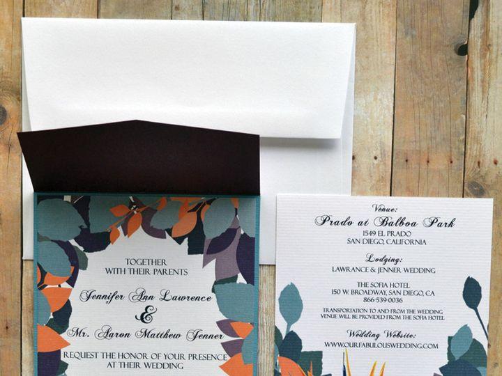 Tmx 1368391307360 Paradise  Is San Diego wedding invitation