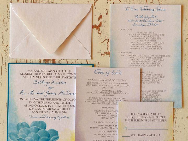 Tmx 1368391314672 Succulent  Is2 San Diego wedding invitation