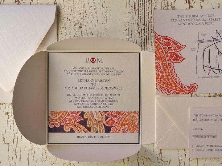 Tmx 1368391695999 Paisley  Is San Diego wedding invitation