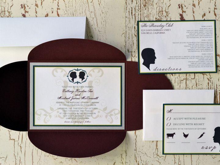 Tmx 1368391701814 Portrait  Is2 San Diego wedding invitation