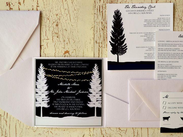 Tmx 1368391707501 Winter Tree  Is3 San Diego wedding invitation