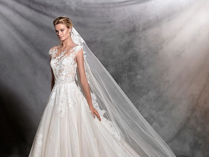 Tmx 1466621746087 Ofeliab  Pronovias Kansas City wedding dress