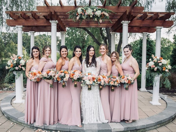 Tmx Bridal Party 51 41145 Towson, MD wedding florist