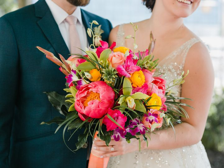 Tmx Couple With Bouquet 51 41145 Towson, MD wedding florist