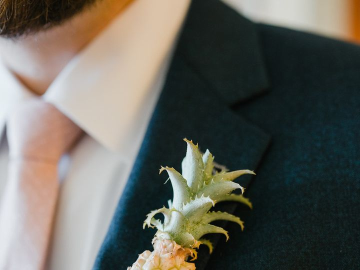 Tmx Pineapple Boutonniere 51 41145 Towson, MD wedding florist