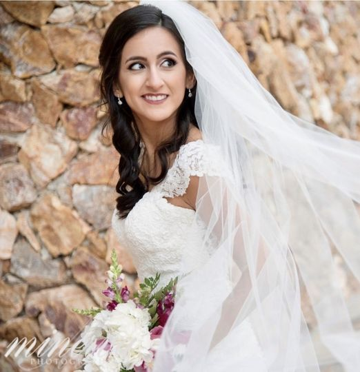 Photo of the bride