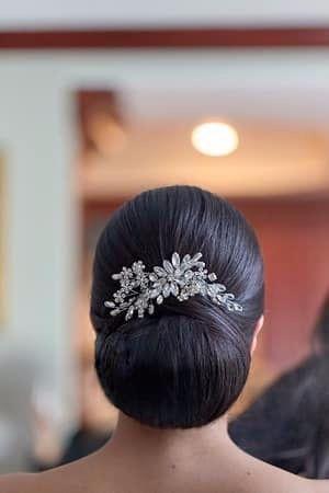 Sleek Bridal Bun