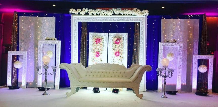 Glamorous seating