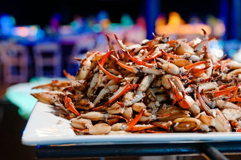 Marinated crab claws