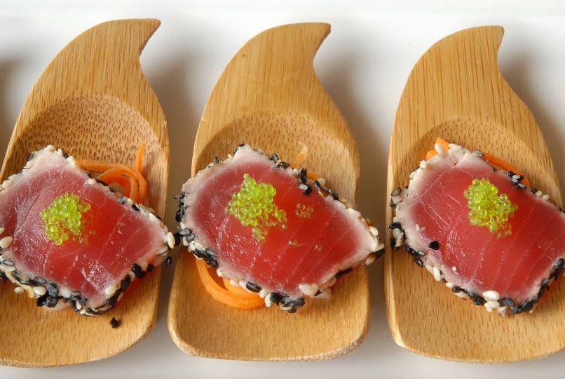 Pan-seared Tuna Passed App