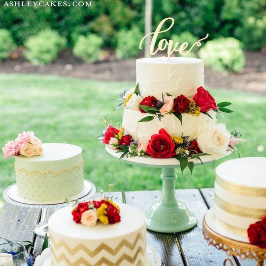 Ashley Cakes Reviews Ratings Wedding Cake North Carolina Raleigh