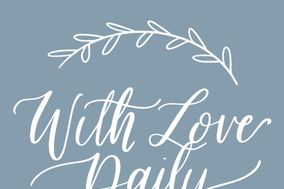 With Love Daily Stationery Designs