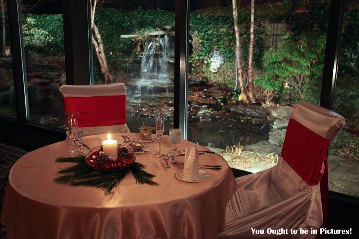 Holiday Wedding Reception