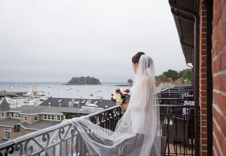 Hotel balcony view