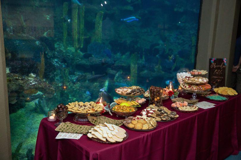 PPG Aquarium food tables