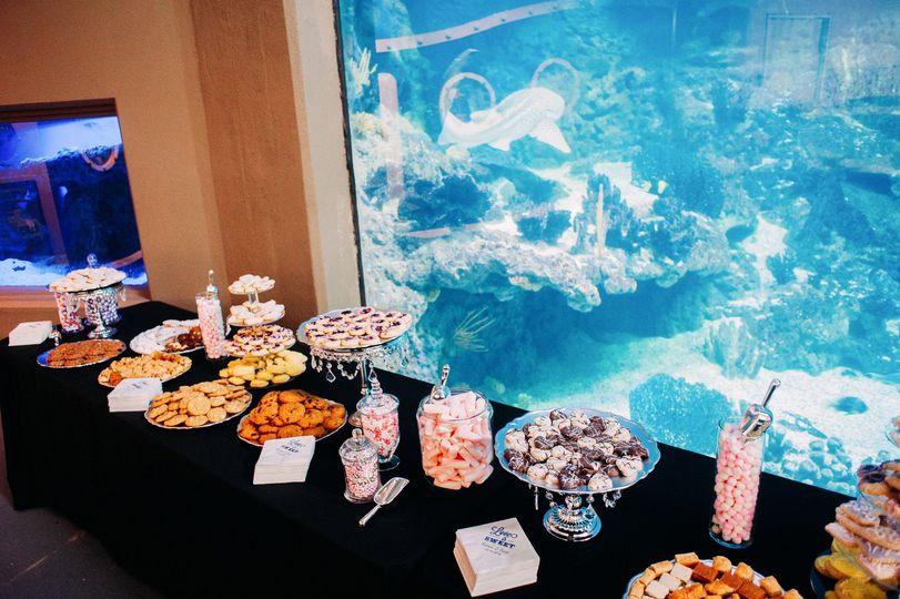 PPG Aquarium sweet table