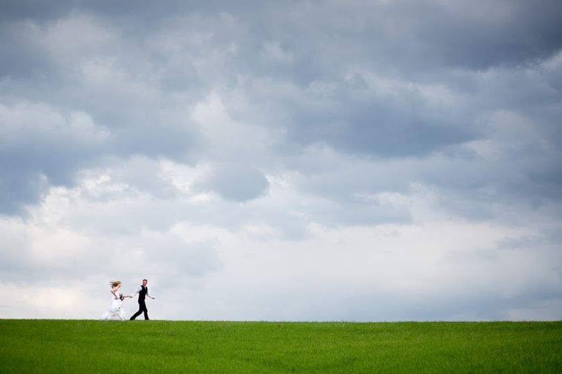 Running together Rachael Boer, Senior Photographer is a wedding and portrait photographer located...