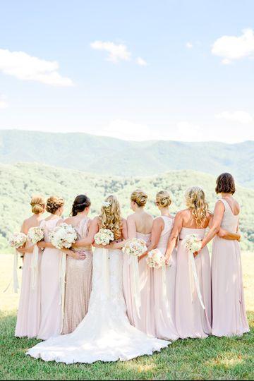 Bride and bridesmaids Alina Thomas, Senior Photographer considers herself a wedding photographer...