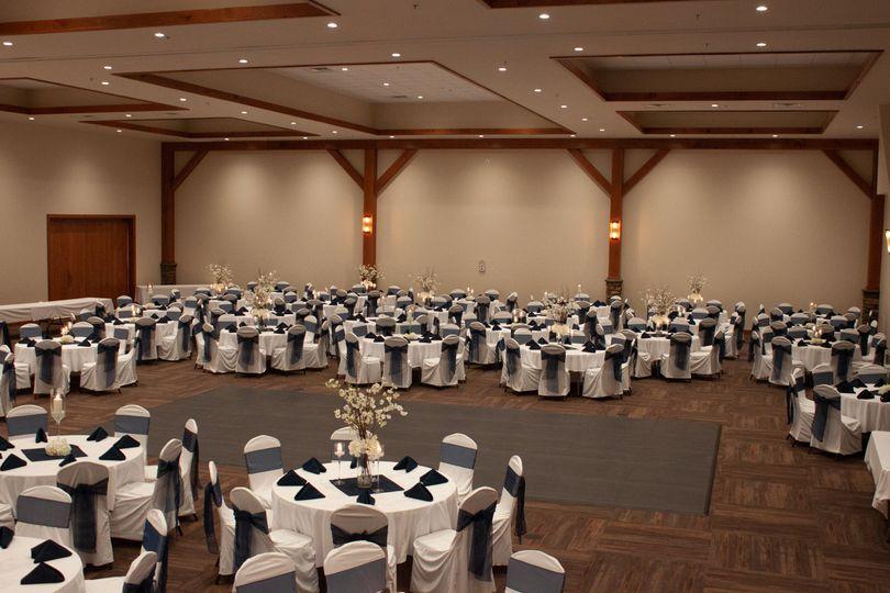 Large Wedding View