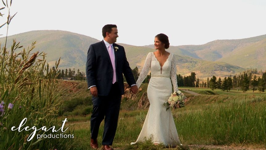elegant productionscolorado wedding videographykey