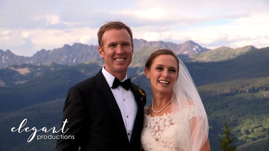 elegant productionscolorado wedding videographyvai
