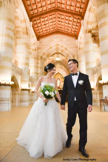 Yale wedding
