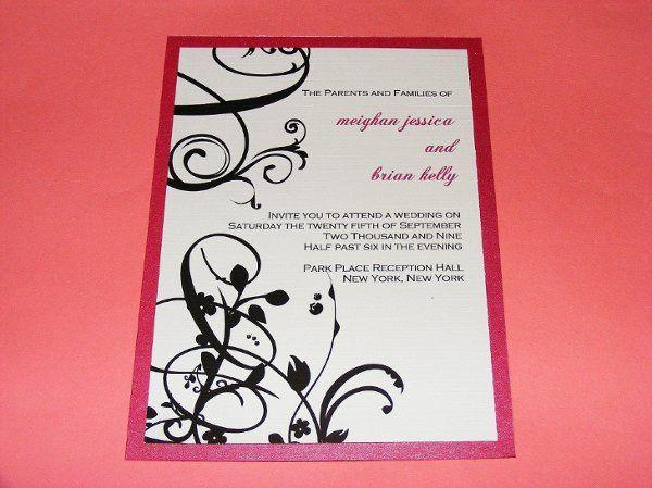 Tmx 1231726083592 Weddingflourish Middletown wedding invitation