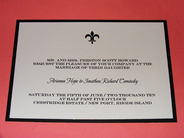 Tmx 1231726366061 DSCF1462 Middletown wedding invitation