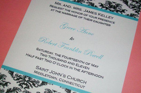 Tmx 1294208500176 0571 Middletown wedding invitation