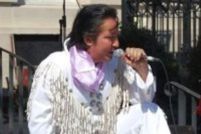 Elvis Impersonator Chuck Baril