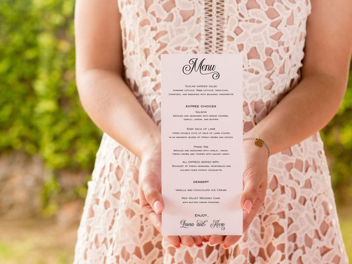 Tmx 1517368253 51dfb0506b70ab00 1517368250 0e111ab449e85186 1517368244163 1 Menu Auburn wedding invitation