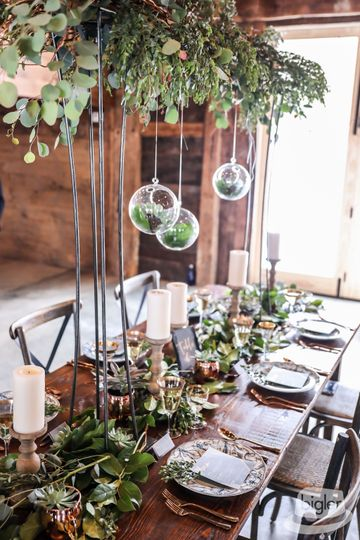 Fresh eucalyptus decor