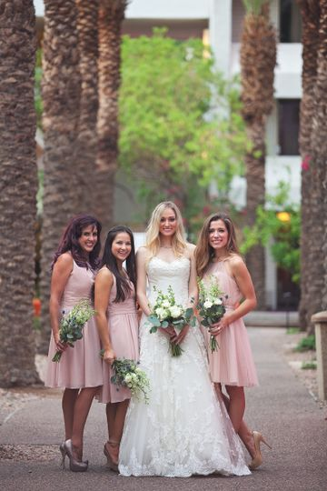 scottsdale resort wedding vintage classic adventur