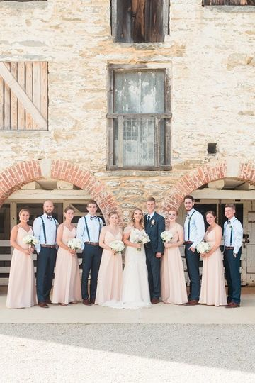 Wedding party (Meghan Kelly Photography)