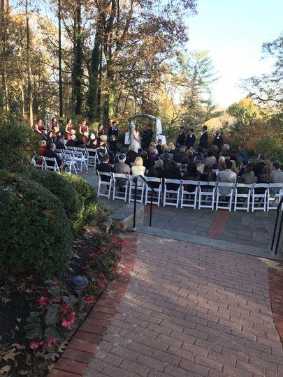 The Gramercy Mansion Ceremony