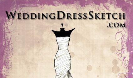 Wedding Dress Sketch .com 1