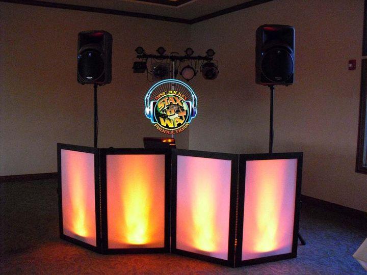 Stax O Wax DJ Productions set-up