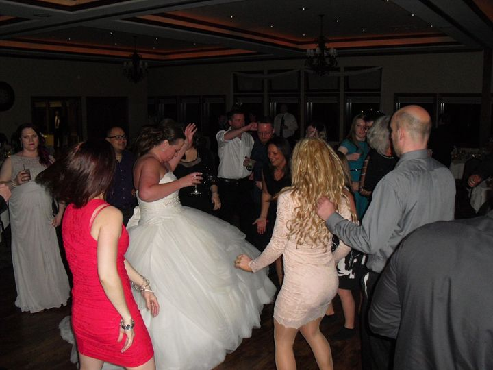 Wedding dance party