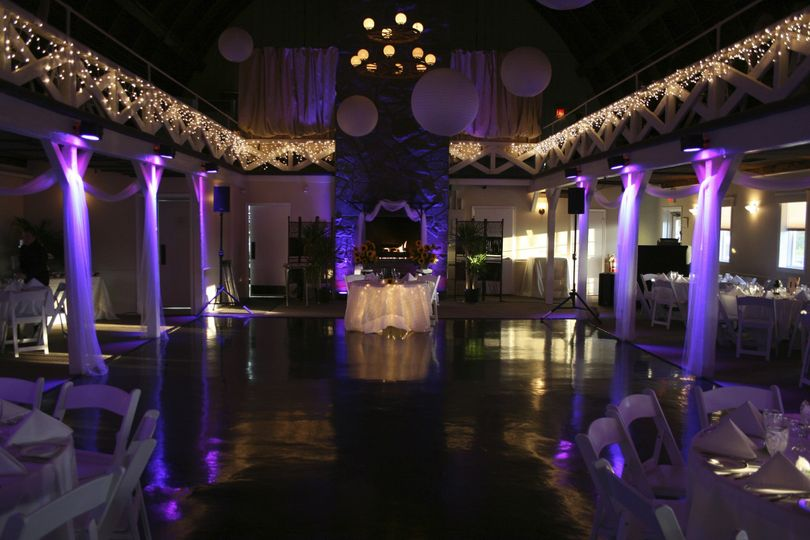 Reception hall dance floor