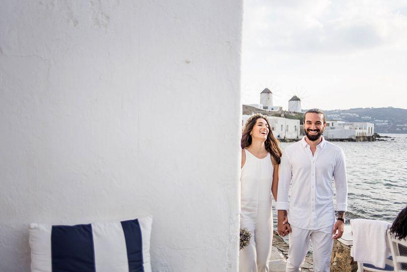 Pre wedding in Mykonos