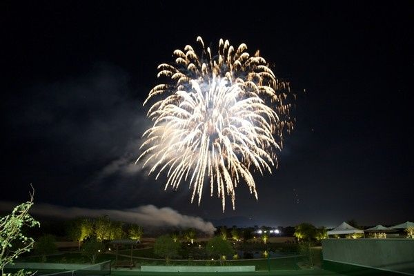 Fireworks at Trilogy Polo Club