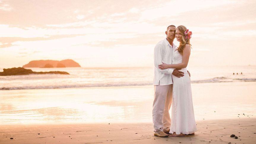 Wedding at Manuel Antonio