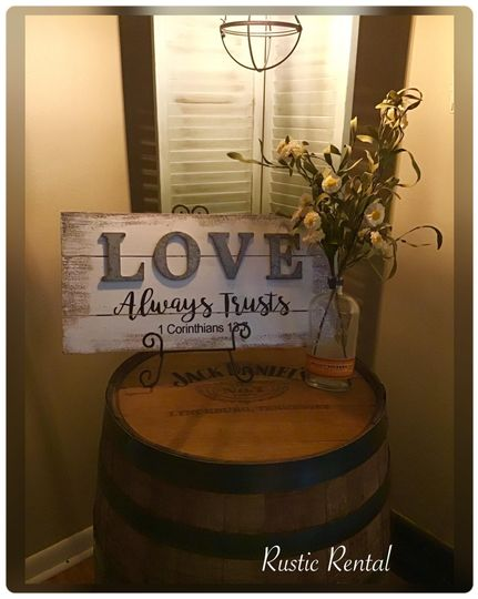Love signage