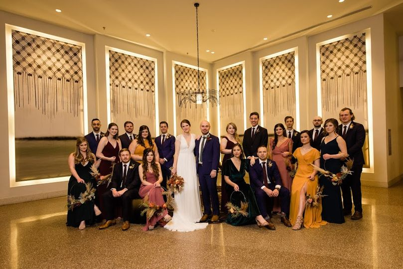 Wedding party Austin