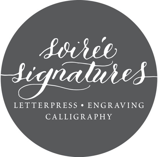 Soiree Signatures Calligraphy and Custom Designed Invitations